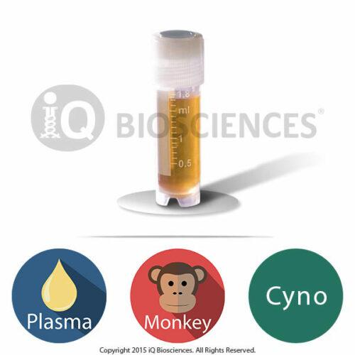 Cynomolgus Macaque Monkey Plasma